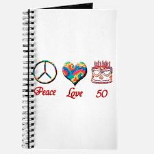 Cute 50th Journal