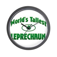 World's Tallest Leprechaun Wall Clock