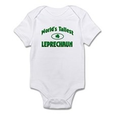 World's Tallest Leprechaun Infant Bodysuit