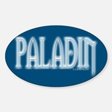 Paladin Oval Decal