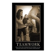 Teamwork Postcards (Package of 8)