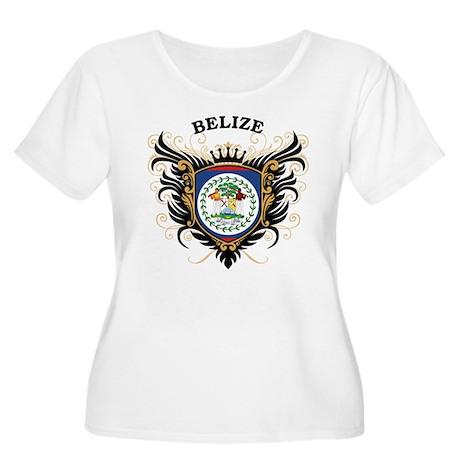 Belize Women's Plus Size Scoop Neck T-Shirt