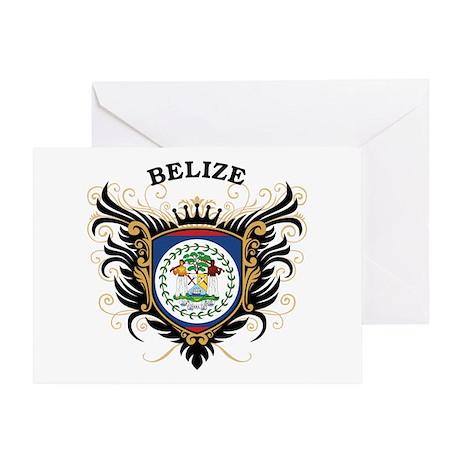 Belize Greeting Card