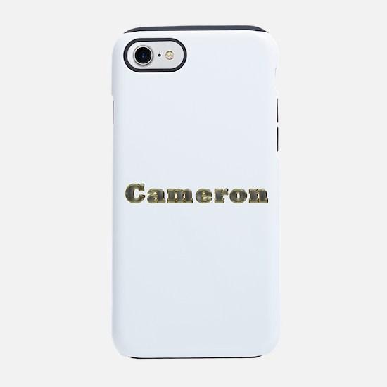Cameron Gold Diamond Bling iPhone 7 Tough Case