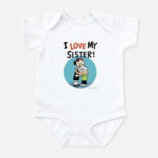 I Love My Sister! Infant Bodysuit