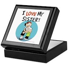 I Love My Sister! Keepsake Box