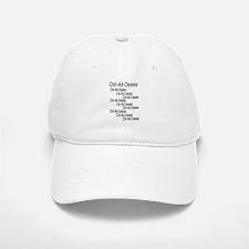 ctrl-alt-delete Baseball Baseball Cap