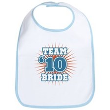 Slate 10 Team Bride Bib
