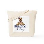 Baby Boy Teddy Bear Tote Bag