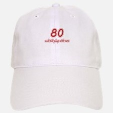 Car Lover 80th Birthday Baseball Baseball Cap