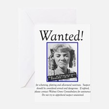 Alison Arngrim Nellie Gifts Greeting Card