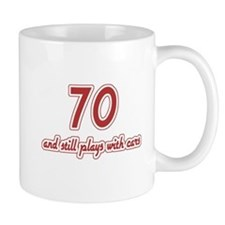 Car Lover 70th Birthday Mug