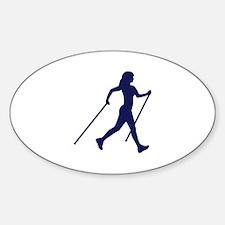 Nordic Walking Decal