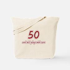 Car Lover 50th Birthday Tote Bag