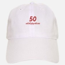 Car Lover 50th Birthday Baseball Baseball Cap