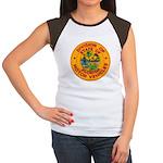 Florida Divison of Motor Vehi Women's Cap Sleeve T