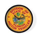 Florida Divison of Motor Vehi Wall Clock