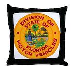 Florida Divison of Motor Vehi Throw Pillow