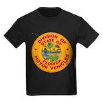 Florida Divison of Motor Vehi Kids Dark T-Shirt