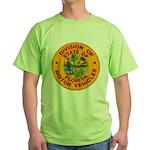 Florida Divison of Motor Vehi Green T-Shirt