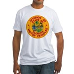 Florida Divison of Motor Vehi Fitted T-Shirt