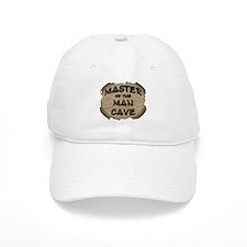 Master Of The Man Cave Baseball Cap