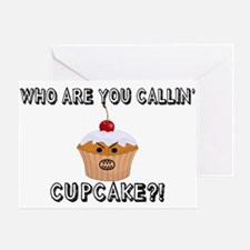 Don't Call Me Cupcake Greeting Card