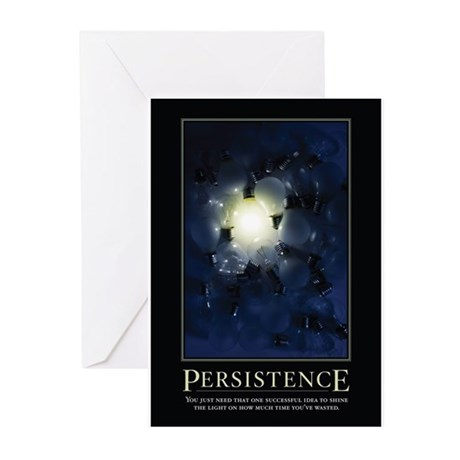 Persistence Greeting Cards (Pk of 20)