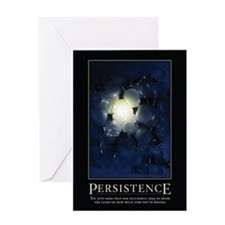 Persistence Greeting Card