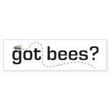 """""""Got Bees?"""" Bumper Sticker"""