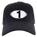 Number One Oval (1) Black Cap