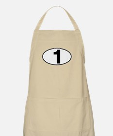 Number One Oval (1) Apron