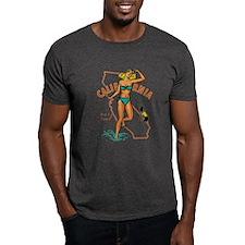 Vintage California Pin-up T-Shirt