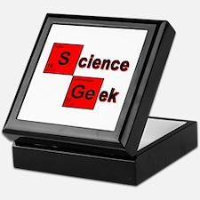 Science Geek Keepsake Box