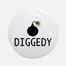 Bombdiggedy Ornament (Round)