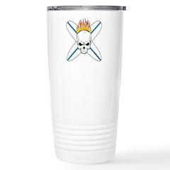 Surf Skull Travel Mug