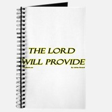 The Lord Will Provide Journal