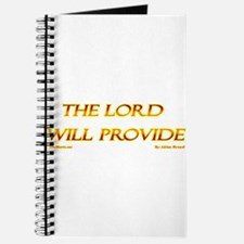 The Lord Will Provide 2 Journal