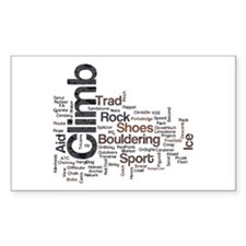 Climbing Words Decal