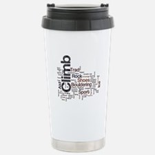 Climbing Words Travel Mug