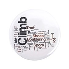 "Climbing Words 3.5"" Button"