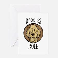 Doodles Rule Greeting Card