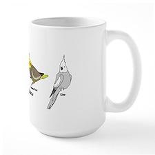 Cockatiel Rainbow Mug