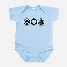 Peace Love Washington D.C. Infant Bodysuit