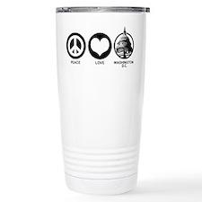 Peace Love Washington D.C. Travel Mug