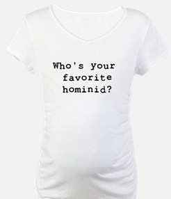 Who's your favorite hominid? Shirt