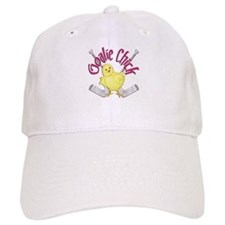 Goalie Chick Baseball Cap