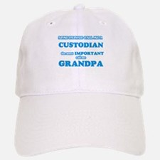 Some call me a Custodian, the most important c Baseball Baseball Cap
