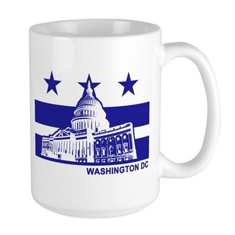 Washington DC Large Mug