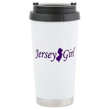 Jersey Girl Stainless Steel Travel Mug